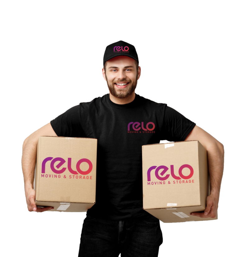 relo moving services, packing and unpacking services