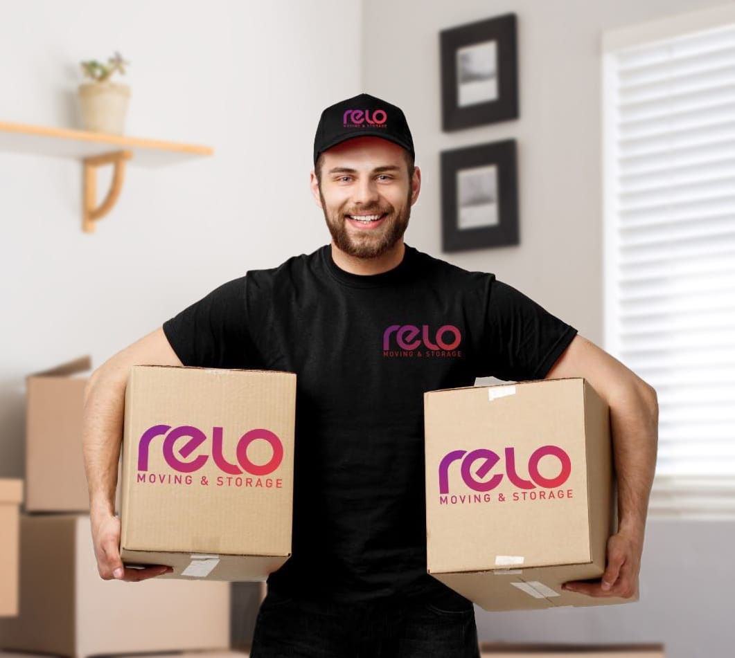 relo-mover-with-boxes, Moving Company in Financial District
