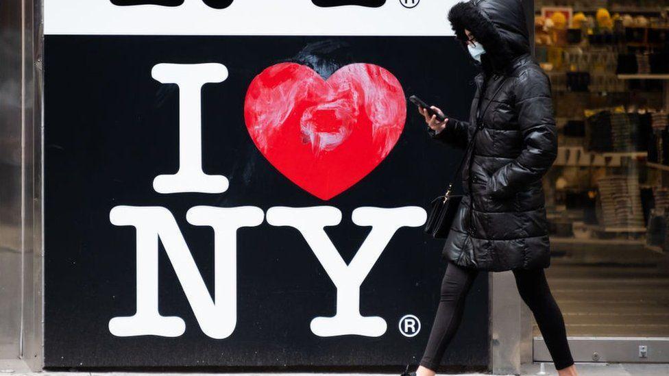 I Love New York Logo in The City